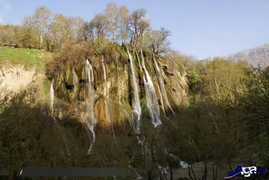 تصاویر آبشار های دیدنی ایران