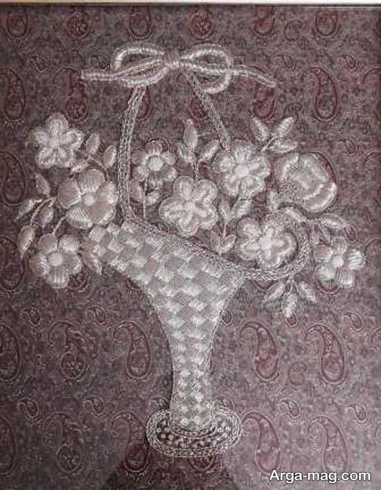 سرمه دوزی با طراحی زیبا