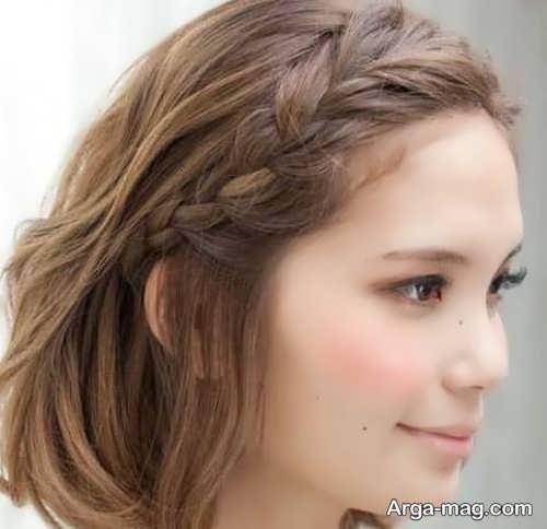 بافت موی کوتاه و شیک