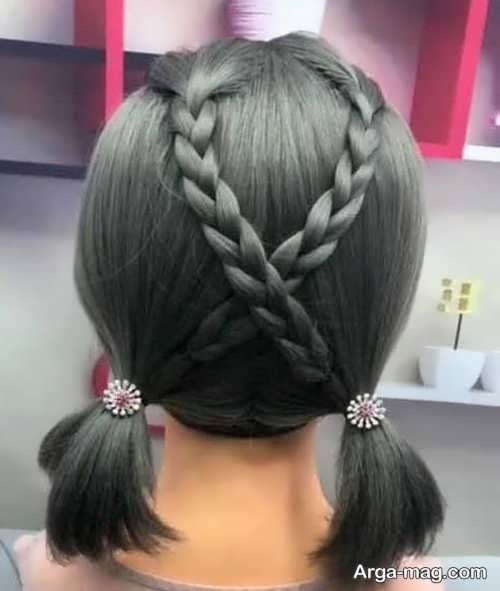 بافت خاص برای موهای کوتاه