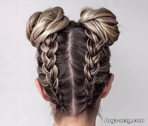 بافت شیک برای موهای کوتاه