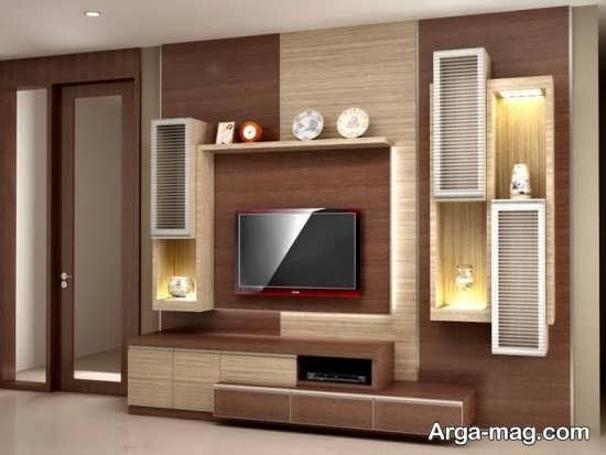 مدلهای میز تلویزیون چوبی با طرح جدید