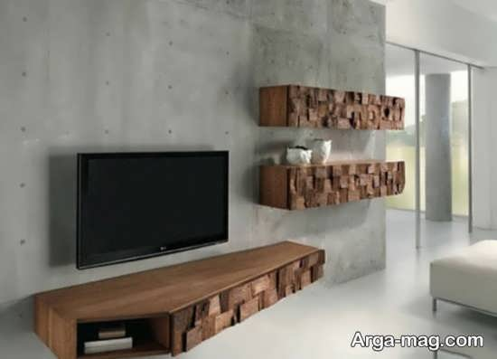 مدلهای میز تلویزیون چوبی با طرح به روز