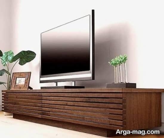 مدلهای عالی میز تلویزیون چوبی