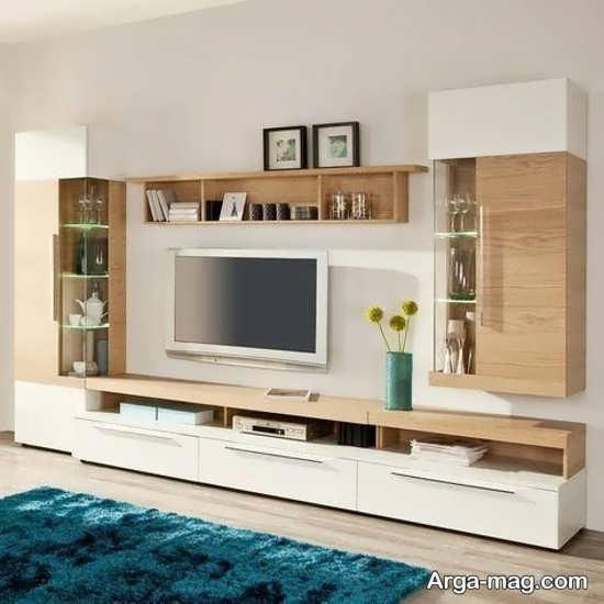 مدلهای به روز میز تلویزیون چوبی