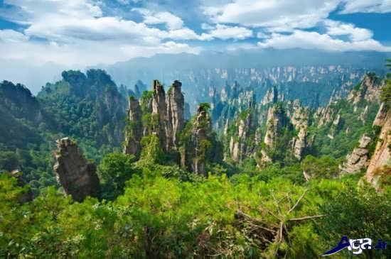 مناظر سرسبز و زیبای جهان
