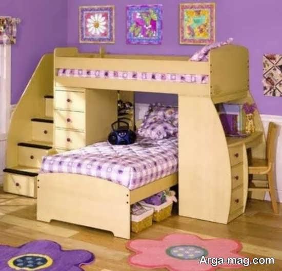 دکور زیبای اتاق نوزادان دوقلو