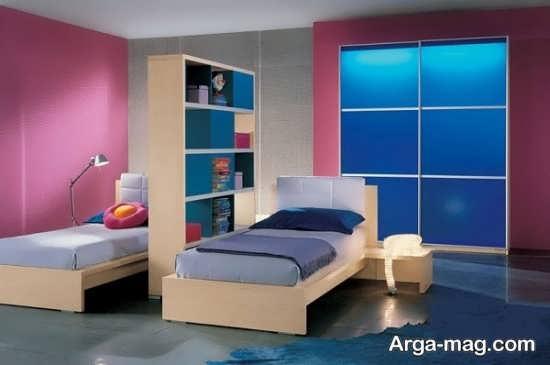 طراحی اتاق نوزادان دوقلو