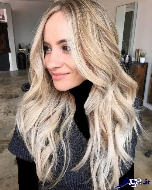 رنگ موی وانیلی