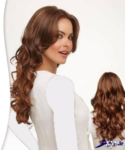 رنگ موی زیبا و جذاب وانیلی