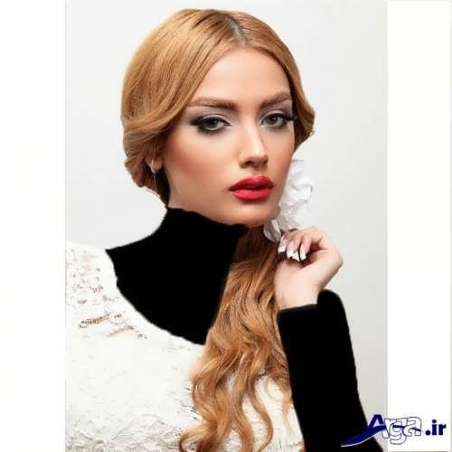 رنگ موی عسلی وانیلی