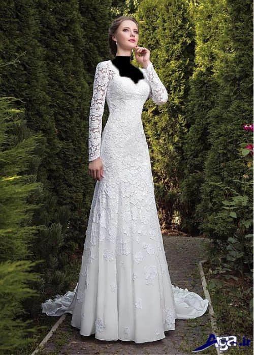 مدل لباس عروس ملکه ای با طرح های زیبا و جذاب