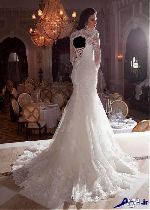 مدل های زیبا و جذاب لباس عروس ملکه ای