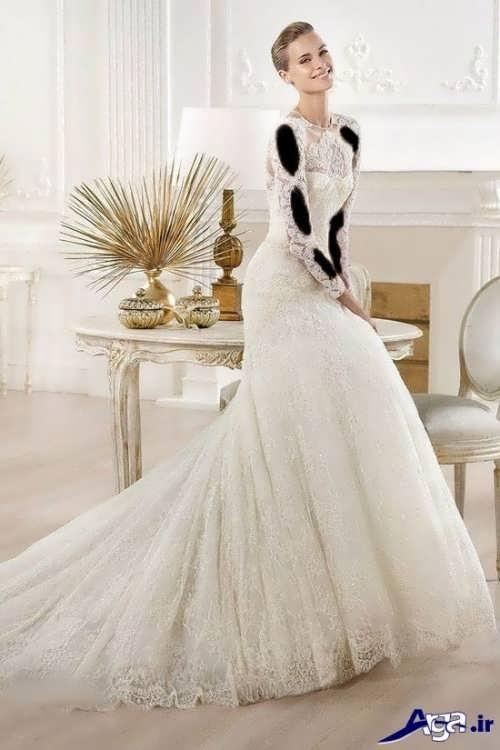 انواع مدل های شیک و زیبا لباس عروس ملکه ای