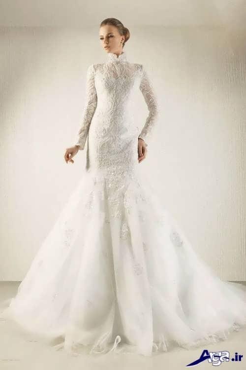 لباس عروس ملکه ای جذاب