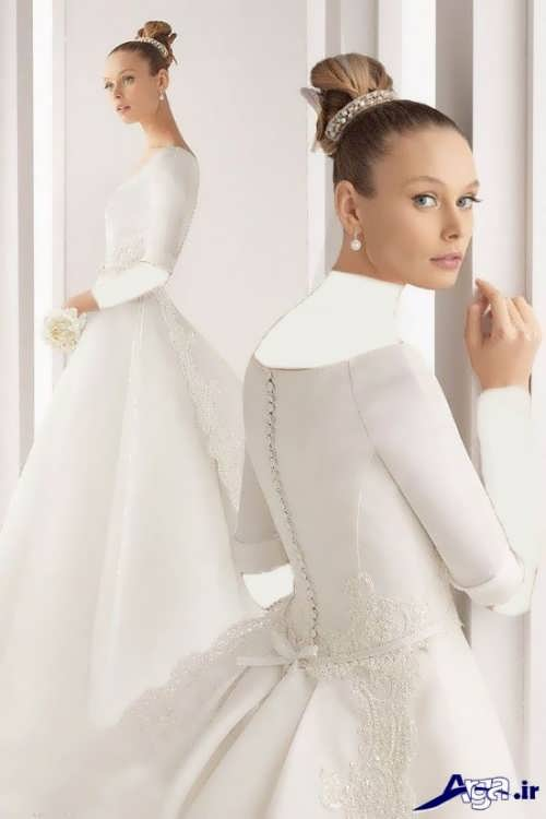 مدل لباس عروس ملکه ای با جدیدترین و زیباترین طرح های مد سال