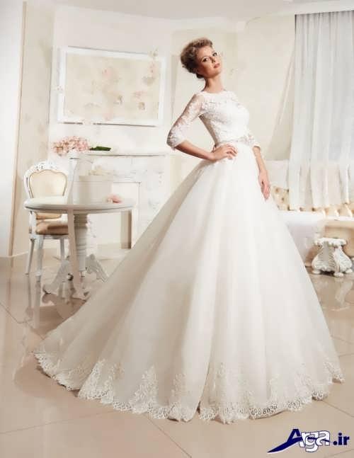 مدل های لباس عروس ملکه ای با طرح های جذاب