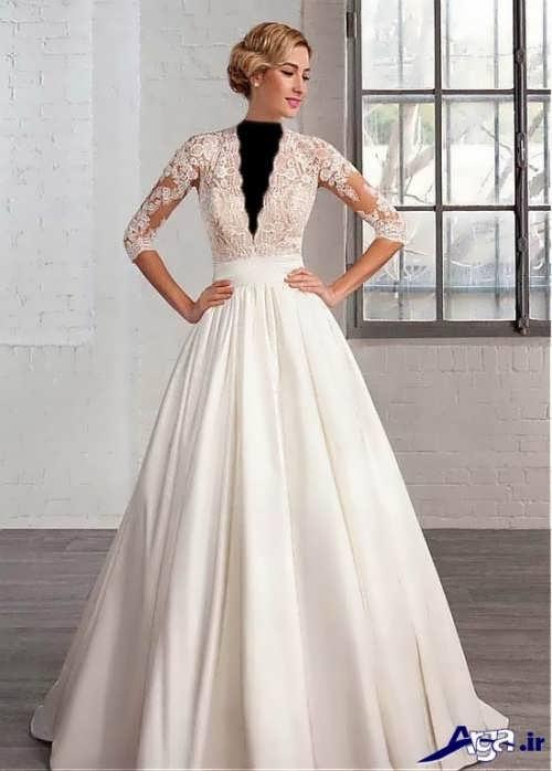 مدل های لباس عروس ملکه ای