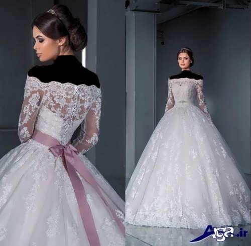 مدل لباس عروس ملکه ای با طرح های مختلف