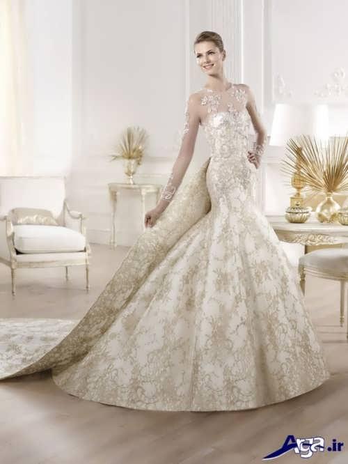 لباس عروس ملکه ای زیبا و جذاب