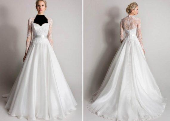 مدل لباس عروس ملکه ای با جدیدترین طرح های مد سال