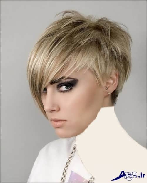 انواع مدل موی زنانه 2017 کوتاه