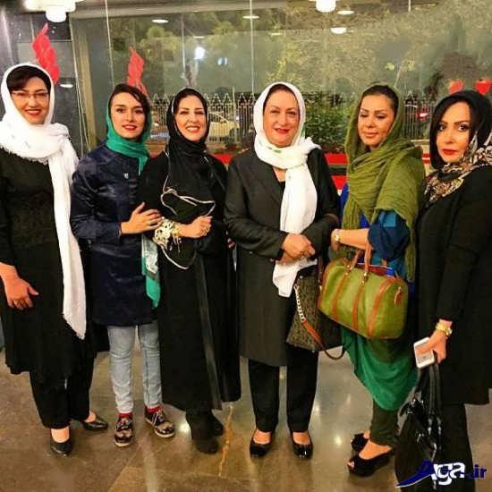 عکس دشته جمعه مرجانه گلچین با بازیگران
