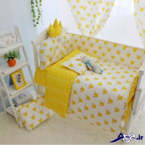 مدل تشک نوزاد با رنگ زرد