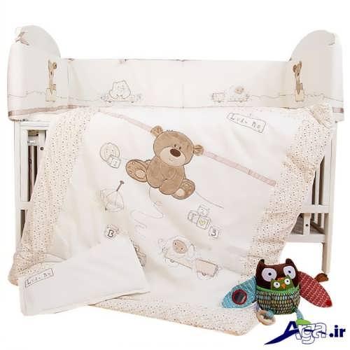 مدل تشک و لحاف نوزاد با طرح خرس