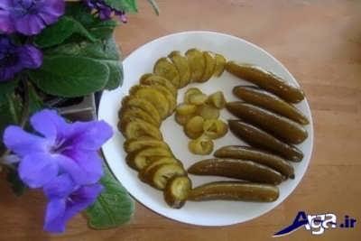 روش تهیه خیارشور با سنگ نمک و زاج سفید