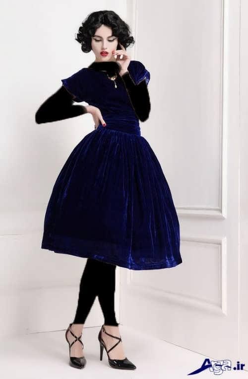 مدل لباس مجلسی مخمل دخترانه با طرح های زیبا و متنوع