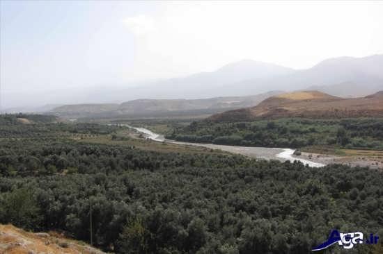 عکس رودخانه های زیبا در ایران