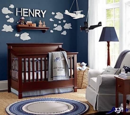 طراحی اتاق نوزاد به زیبایی
