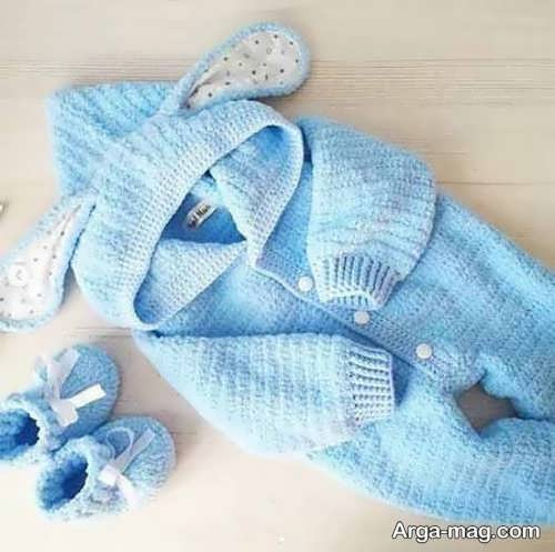 مدل دوست داشتنی لباس سرهمی نوزادان
