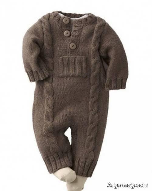 مدل بی نظیر لباس سرهمی نوزادان
