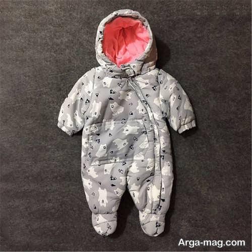 خاص ترین مدل لباس سرهمی نوزاد