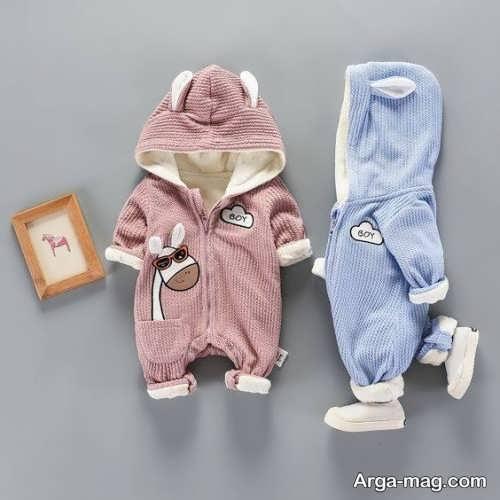 لباس سرهمی نوزادان با طرح به روز