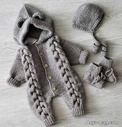 مدل جدید لباس سرهمی نوزادان
