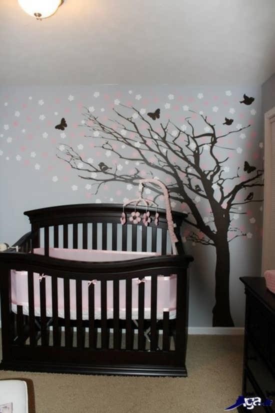 طراحی اتاقی زیبا برای نوزاد