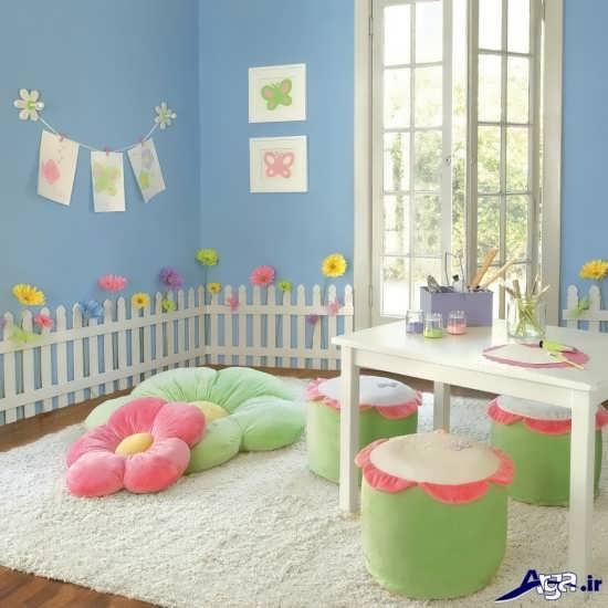 طراحی اتاق برای نوزاد دختر