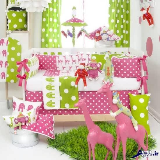 طراحی زیبا برای اتاق نوزاد