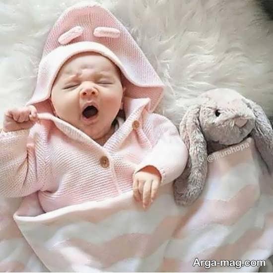 بامزه ترین عکس نوزاد برای پروفایل