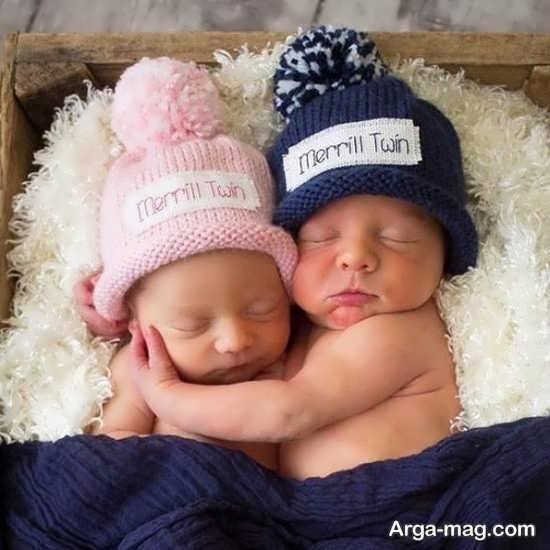 عکس پروفایل بی نظیر نوزادان دختر و پسر