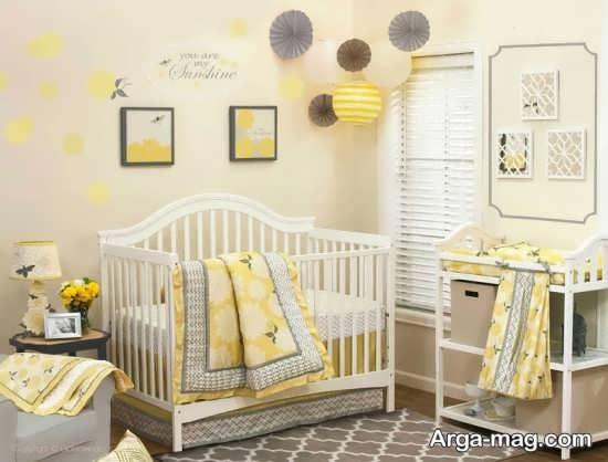 طراحی اتاق نوزاد دختر با چند ایده