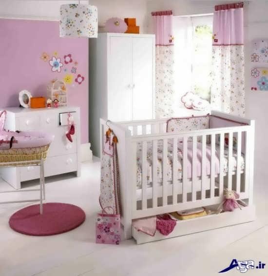طراحی داخلی برای اتاق نوزاد