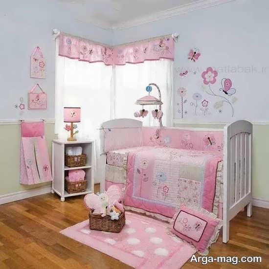 دکوراسیون داخلی تزیین اتاق نوزاد
