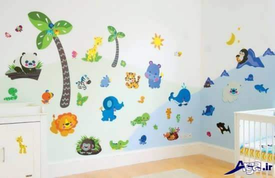 طراحی اتاق زیبا برای کودک