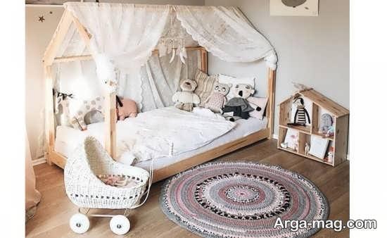 طراحی اتاق نوزاد دختر با ایده های جالب و ارزان