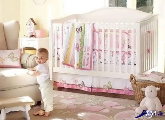 طراحی زیبا ی اتاق نوزاد