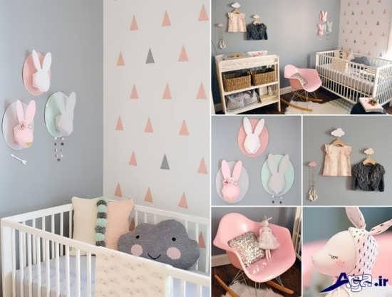 طرحی اتاق نوزاد، زیبا و جالب